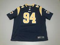 Robert Quinn #94 Los Angeles Rams NFL Nike On Field Football Jersey Size 3XL