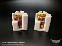 DJI Phantom 4 Series LED Strobe Light Mount for STROBON Cree, Flytron, Firehouse