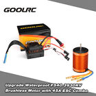 Upgrade F540 3930KV Brushless Motor with 45A ESC Combo Set for 1/10 RC Car Y1O3
