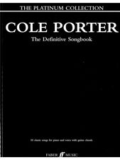 Cole Porter The Definitive Song The Platinum Collection Present MUSIC BOOK