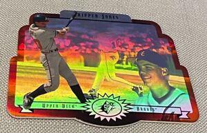 1996 Upper Deck SPx #2 Chipper Jones (HOF) Atlanta Braves