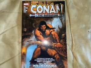 Conan the Barbarian,1- Into the Crucible by Zub, Marvel 2021, Softcover