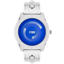 GENUINE STORM LONDON GENTS DYNAMIX LAZER BLUE WATCH BNIB GUARANTEE 47328/LB