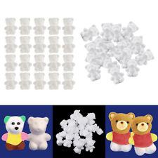 40pcs ours en forme de mousse de mousse de polystyrène créatif diy enfants