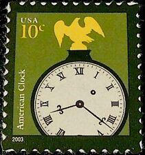 20 Mint Stamps: Early American Banjo Clock, 1805 by Simon Willard, Brass Eagle