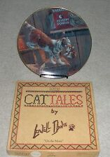 """Cat Tales Plate """"On the Move"""" by Lowell Davis - 3rd Edition"""