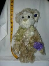 Annette Funicello Carmel & Cream Bear 14 Inch With Tags