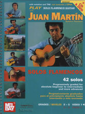 Play ASSOLO di chitarra Flamenca VOL 1 Juan Martín Scheda Music Book/DVD/CD