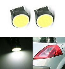 Ampoules T20 LED W21 W COB Blanc 6500K 7440 phares Veilleuses feux de jour Auto