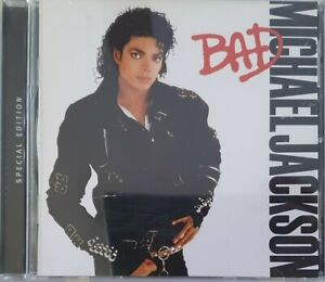 Michael Jackson – Bad CD Cat No. 5044232000 Special Edition Made in Australia