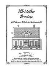 Villa Meilleur House Drawings, New Orleans - Architectural House Plans