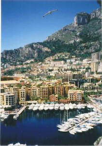 Fine Art Photograph of Monte Carlo Harbor France/3 Enlargement Sizes Available