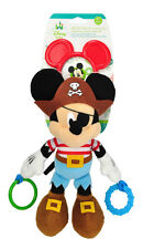 Authentic Disney Mickey Mouse Plush Baby Attachable Activity Toy Chime