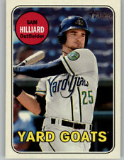 Sam Hilliard 2018 Topps Heritage Minor GLOSS FRONT Glossy Parallel 78 Yard Goats