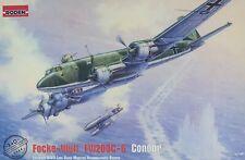 1/144 WW2 Bomber : Focke Wulf Fw-200C-6 Condor [GERMANY] #340 : RODEN