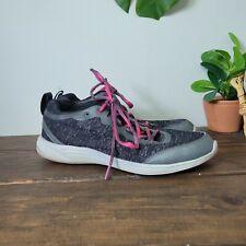 Vionic Agile Fyn Orthotic Black Athletic Running Sneaker 335FYN Womens Sz 10