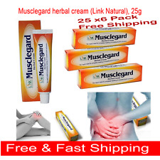 25g x 6  Link Natural Musclegard  Cream Quick Relief for Backache & Muscle Pain