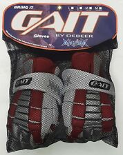 New Debeer Gait Maygll Mayhem Large Red Lacrosse Gloves
