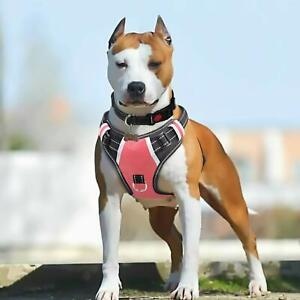 BABYLTRL Big Dog Harness No Pull Adjustable Pet Reflective Oxford Soft Vest