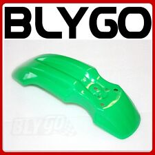 Green Plastic Front Wheel Mud Guard Fender CRF50 Style PIT PRO Trail Dirt Bike