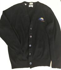 Disneyland castmember navy blue Sweater Uniform / Costume w/ embroidered