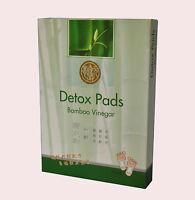 Bamboo Vinegar Foot Pads Detox Patch Detoxify Adhesive 10 Pads Chinese Herbal