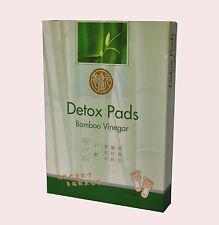 ACETO di bambù del piede Pad Detox Patch disintossicare Adesivo 10 PASTIGLIE a base di erbe cinesi