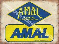 Old Carburetor, 156 Vintage Garage, Car Parts, Transport, Small Metal/Tin Sign