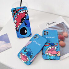 Cartoon Cute Stitch Funny Phone Case Cover For iPhone 11 Pro Max XS XR 7 8 Plus