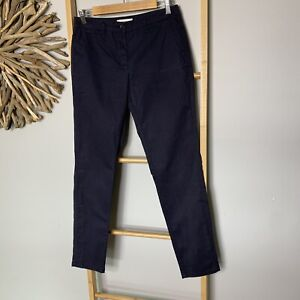 Country Road Size 8 XS Women's Navy Blue Cotton Chino Pants Work