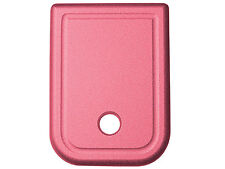Floor Magazine Mag Base Plate Pink for Glock 9mm 40cal Plain