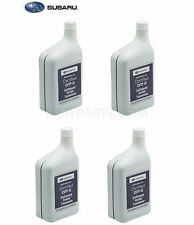 4 Liters Auto Trans Fluid CVTF-II Green for Subaru Crosstrek Forester Impreza