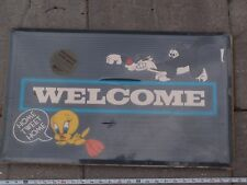 Tweety Bird Sylvester Door Mat Welcome Warner Brothers Studio Store Wbss New