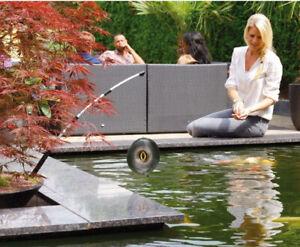 Heron Deterrant Velda Spinner Pond Protector Otter Stop Pest Scarer Cat Koi Fish