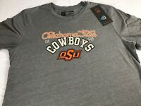 Oklahoma State Cowboys T-Shirt Womens Large Student Alumni Soft Triblend NEW Tee