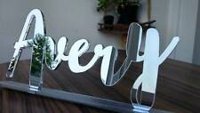 Freestanding Acrylic Name Personalised Free Standing Custom Names Letters Signs