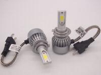 Led H7 Kit 12000Lm Lampade Lampadine Auto Fari Headlight Xenon 6000K Full Canbus