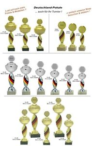 Deutschland Pokale -Serien nach Wahl- inkl.Emblem & Gravur ab 19,95 EUR