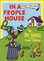 Dr Seuss Beginner Books In a People House Dr Seuss c1972  EUC