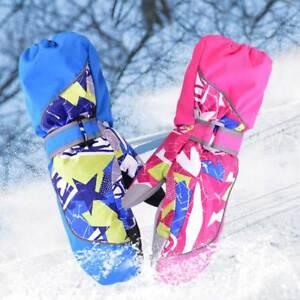Kinder Winter Warm winddicht wasserdicht Handschuhe Ski Snowboard Handschuhe
