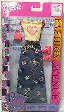 BARBIE CLOTHES FASHION AVE. MATTEL 55516 B7052. New in 2002 Package.