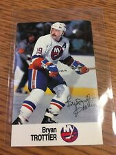 1988 ESSO NHL ALL-STAR COLLECTION BRYAN TROTTIER STAMP STICKER FRENCH ENGLISH