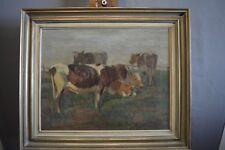 Carl Appel (1866 - 1937) Hamburg Kühe auf der Weide Carl Heinrich Wilhelm Appel