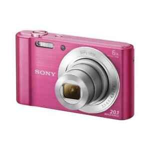 Sony DSC-W810 Cyber-Shot Pink 25mm 6X
