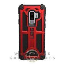 UAG - Samsung GS9 Plus Monarch Case - Crimson/Black Cover Shell Protector Guard
