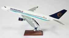 A320 Large Plane Model Airplane Apx 43Cm Solid Resin Spain Iberworld