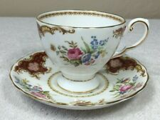 Vintage Fine Bone China Cup and Saucer by Tuscan England Windsor C 9550