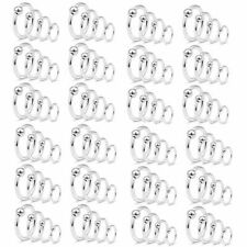 16ga or 14ga 8mm 10mm 11mm Captive Bead Ring Surgical Steel 100pcs