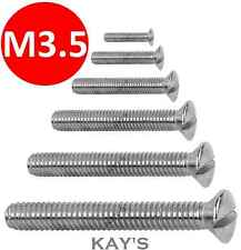 Building & Hardware Home Improvement Electric Plug Socket Machine Screws Bzp 3.5mm X 50mm Pack Of 1000 At Any Cost