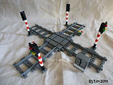 Kreuzung mit Signalanlage NEU passend zu Lego® 60050, 60052, 7938, 7938, 7936